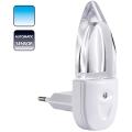 Candeeiro de tomada MINI-LUZ (luz azul)