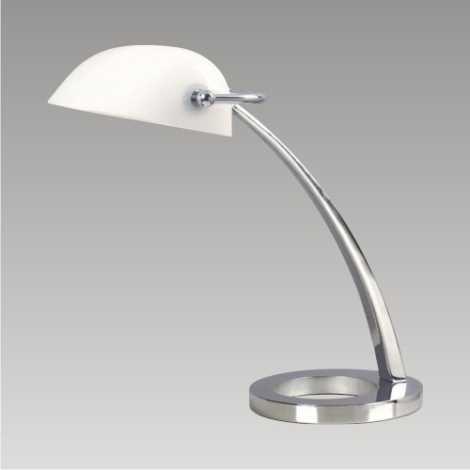 DALLAS Lâmpada de mesa 1xE27/60W branco