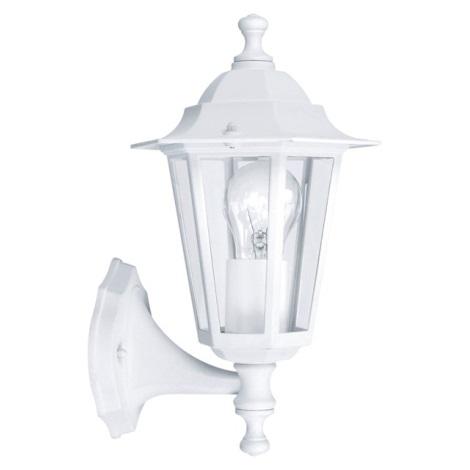 EGLO 22463 - Luz de parede de exterior LATERNA 5 1xE27/60W branco