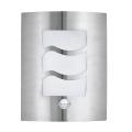 EGLO 30194 - Aplique de parede externo com sensor CITY 1 1xE27/60W/230V IP44