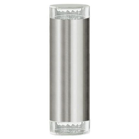 EGLO 87112 - Luz de parede de exterior RIGA LED 2xGU10/LED/1,28W IP44