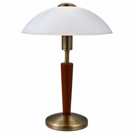 EGLO 87256 - Candeeiro de mesa SOLO 1 1xE14/40W/230V