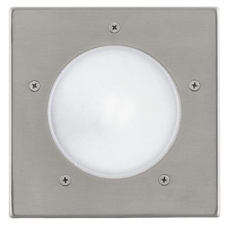 EGLO 88063 - Luz de garagem de exterior IP67 RIGA 3 1xE27/15W