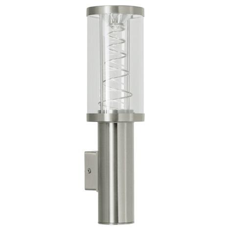 EGLO 88121 - Luz de parede de exterior TRONO 2xGU10/50W IP44