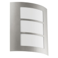 EGLO 88139 - Luz de parede de exterior CITY 1xE27/15W/230V IP44