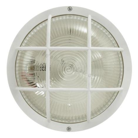 EGLO 88807 - Luz de parede de exterior ANOLA 1xE27/40W branco IP44