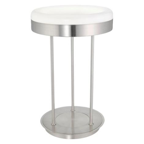 EGLO 88832 - Lâmpada de mesa RINGO 1x2GX13/40W cromo mate / branco