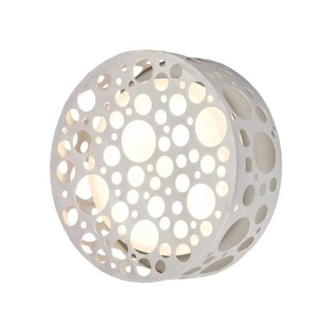 EGLO 89541 - Luz de parede de exterior ROCKER Alumínio/branco IP54