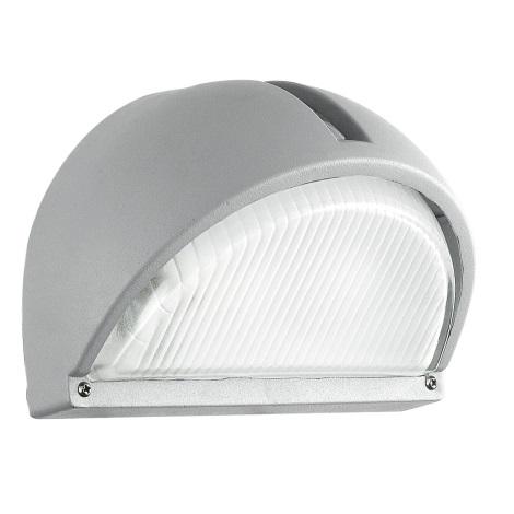 EGLO 89769 - Luz de parede de exterior ONJA 1xE27/60W prata IP44