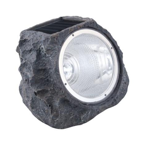 Eglo 90494 - Pedra leve solar 4xLED/0,06W/1xAA IP44