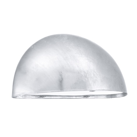 EGLO 90867 - Luz de parede de exterior LEPUS 1xE27/40W galvanizovaná ocel