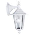 EGLO - Iluminação de parede exterior 1xE27/60W/230V IP44 branca