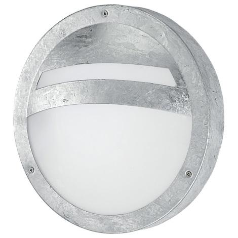 Eglo - Luz de parede de exterior 1xE27/15W/230V IP44