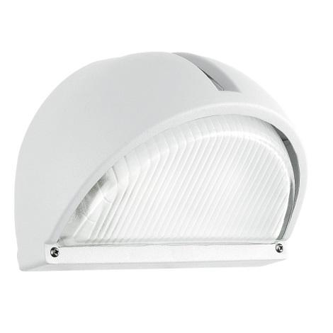 EGLO - Luz de parede de exterior 1xE27/60W branco IP44