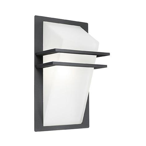 EGLO - Luz de parede de exterior 1xE27/60W IP44