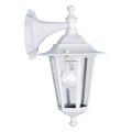 EGLO - Luz de parede de exterior 5 1xE27/60W/230V IP44 branco