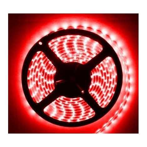 Fita LED à prova de água 5m IP65 vermelho