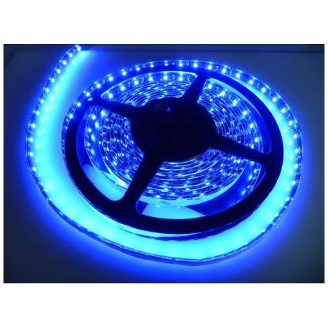 Fita LED impermeável 5m IP65 azul