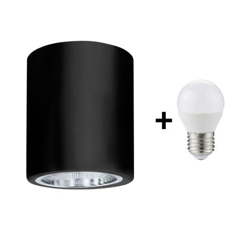 Foco de teto LED JUPITER 1xE27/6W/230V 120x98 mm