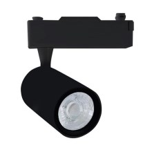 Foco LED para sistema de carril TRACK LIGHT LED/12W/230V 3000K preto