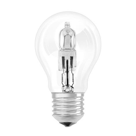 Lâmpada de halogéneo E27/53W/230V transparente