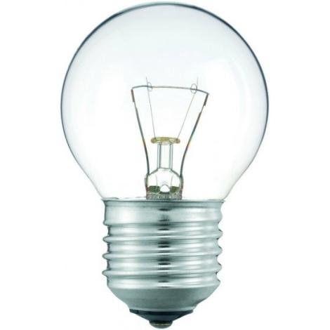 Lâmpada de iluminação E27/25W transparente