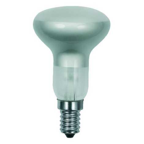 Lâmpada de iluminação R50/E14/40W fosca