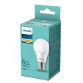 Lâmpada LED Philips A60 E27/8W/230V 2700K