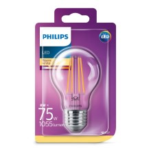 Lâmpada LED Philips E27/8W/230V 2700K