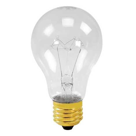 Lâmpada resistente E27/200W transparente