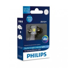 LED Lâmpada de carro Philips X-TREME ULTINON 129404000KX1 LED C5W/12V 4000K