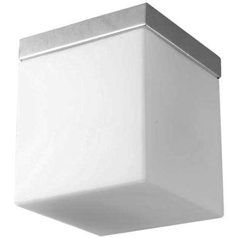 Luxera 1513 - Luz de teto CUBIX 1xE27/60W/230V