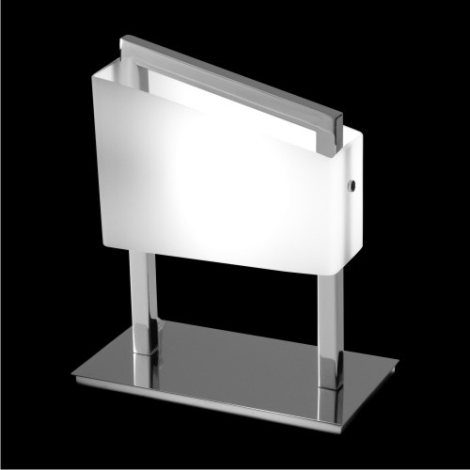 Luxera 1598 - Lâmpada de mesa RONDA 1xG9/40W/230V