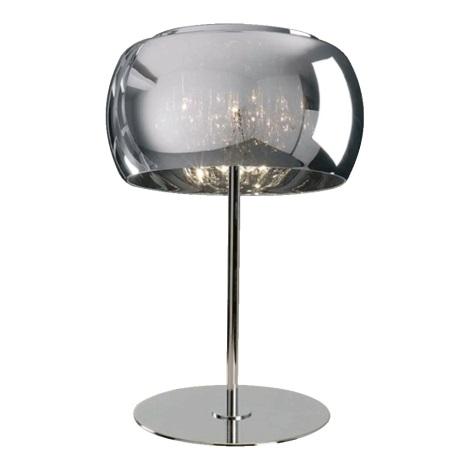 Luxera 46053 - Lâmpada de mesa SPHERA 3xG9/42W/230V