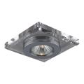 Luxera 71006 - Luz embutida ELEGANT 1xGU10/50W/230V