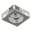 Luxera 71008 - Luz embutida ELEGANT 1xGU10/50W/230V