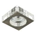 Luxera 71009 - Luz embutida ELEGANT 1xGU10/50W/230V