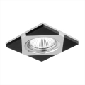 Luxera 71023 - Luz embutida ELEGANT 1xGU10/50W/230V