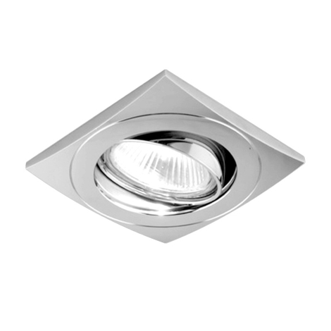 Luxera 71028 - Luz embutida ELEGANT 1xGU10/50W/230V