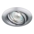 Luxera 71050 - Luz embutida ELEGANT 1xGU10/50W/230V
