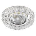 Luxera 71074 - Luz embutida CRYSTALS 1xGU10/50W/230V + LED STRIPE