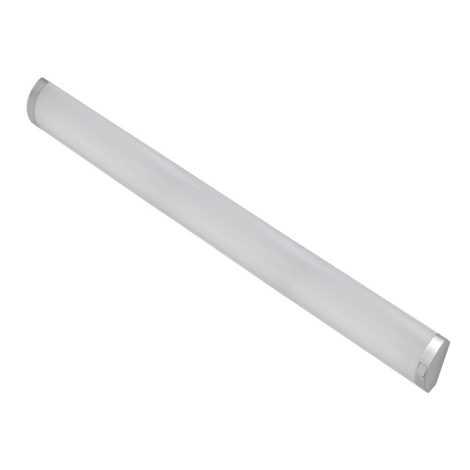 Luz de cozinha AVELA 1xT5/21W prata