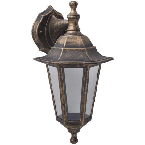 Luz de parede de exterior CAPRI 1xE27/60W/230V IP44