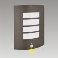 Luz de parede de exterior com sensor MEMPHIS 1xE27/15W/230V IP44