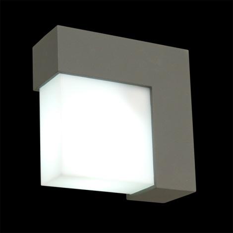 Luz de parede de exterior OSLO 1xE27/14W IP44