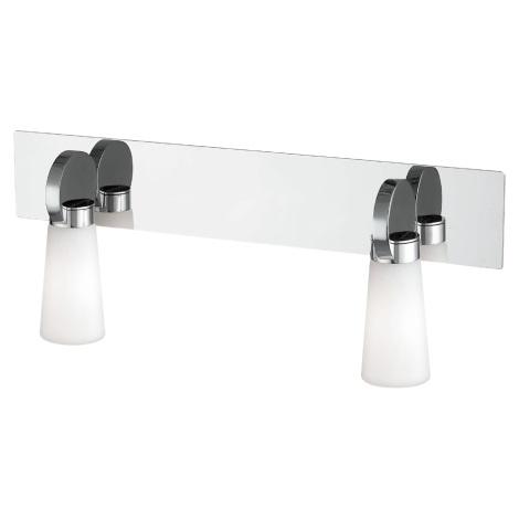 Luz de parede para casa de banho PEARL 2xG9/25W/230V IP44
