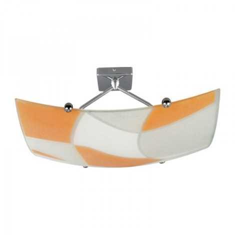 Luz de teto ASPIS 2xE27/100W/230V branco/laranja