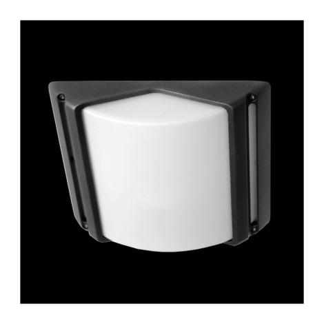 Luz de teto de exterior CITY 1xE27/60W cinzento IP44
