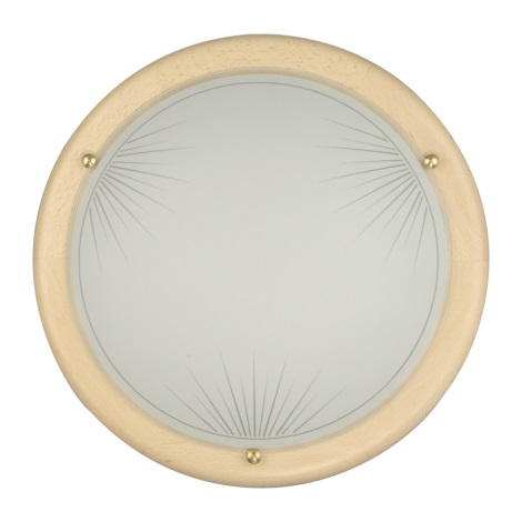 Luz de teto parede 2xE27/60W/230V