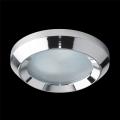 Luz encastrada de casa de banho EMITHOR 1xGU10/50W/230V IP55